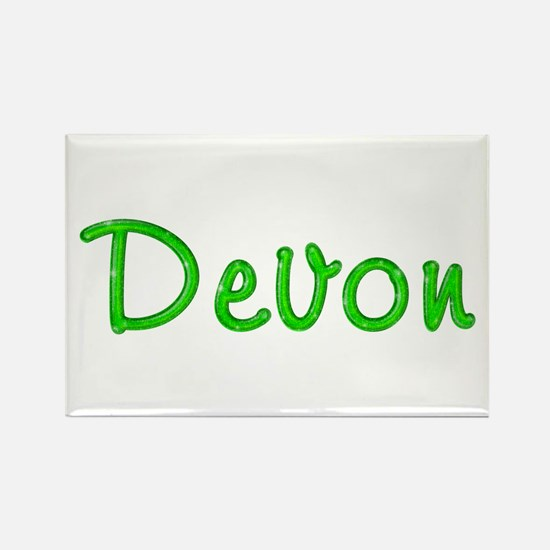 Devon Glitter Gel Rectangle Magnet