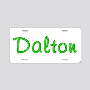 Dalton Glitter Gel Aluminum License Plate