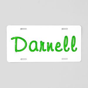 Darnell Glitter Gel Aluminum License Plate