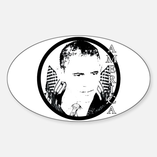 Obama America Sticker (Oval)