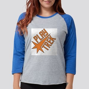pt-square Womens Baseball Tee