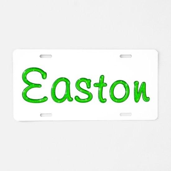 Easton Glitter Gel Aluminum License Plate