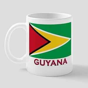 Guyana Flag Gear Mug