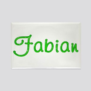 Fabian Glitter Gel Rectangle Magnet