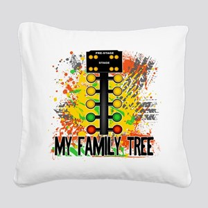 my family tree Square Canvas Pillow