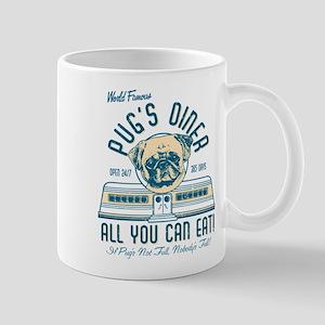 PUGS DINER FAWN Mugs