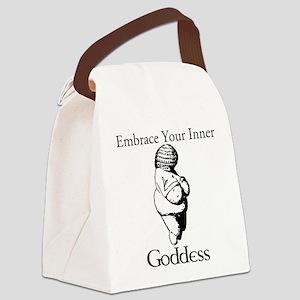 Inner Goddess Canvas Lunch Bag