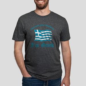 GreeceBaklava2 Mens Tri-blend T-Shirt