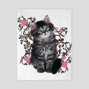 Cute Kitten Kitty Cat Lover Twin Duvet