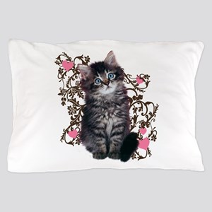 Cute Kitten Kitty Cat Lover Pillow Case