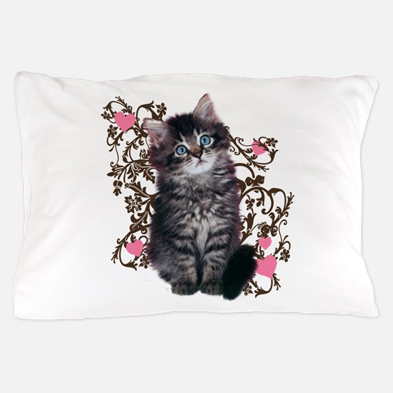 Cute Kitten Kitty Cat Lover Pillow Case