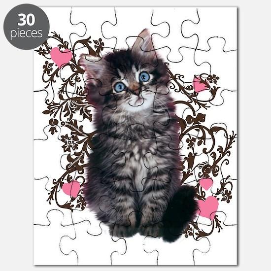 Cute Kitten Kitty Cat Lover Puzzle