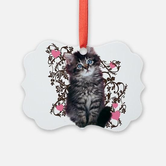 Cute Kitten Kitty Cat Lover Ornament