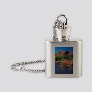 Cathedral Rock Sedona - Vertical Flask Necklac