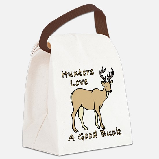 GoodBuckDesign.png Canvas Lunch Bag