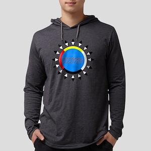 COCOPAH4COLORDARKSHIRT Mens Hooded Shirt