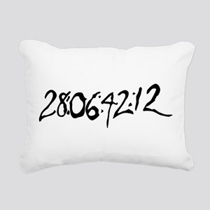 End Of World Rectangular Canvas Pillow