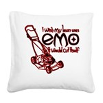 EmoLawnDesign Square Canvas Pillow