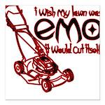 EmoLawnDesign Square Car Magnet 3