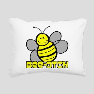 Beeotch Rectangular Canvas Pillow