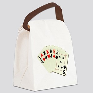 JackassCardsDesign2 Canvas Lunch Bag