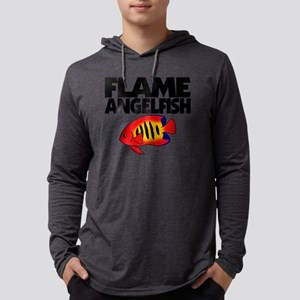 flameangelfish Mens Hooded Shirt