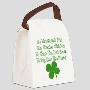 IrishWorldDesign Canvas Lunch Bag