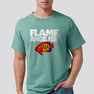 flameangelfish_blk Mens Comfort Colors Shirt
