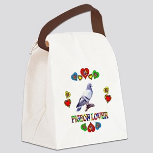 Pigeon Lover Canvas Lunch Bag