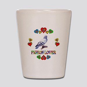 Pigeon Lover Shot Glass