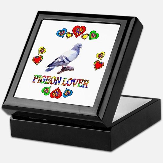 Pigeon Lover Keepsake Box