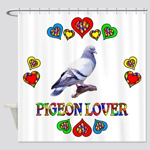 Pigeon Lover Shower Curtain