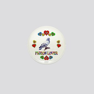Pigeon Lover Mini Button