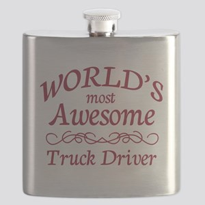 Awesome Truck Driver Flask