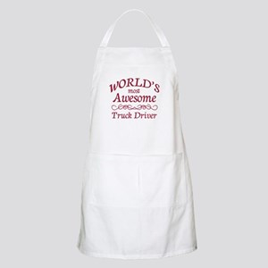 Awesome Truck Driver Apron