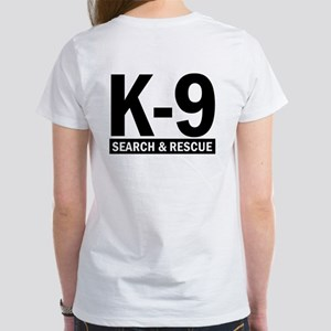 Search and Rescue K9 Unit Women's T-Shirt