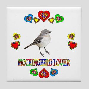 Mockingbird Lover Tile Coaster