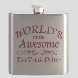 Awesome Tow Truck Driver Flask