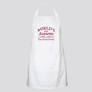 Awesome Tow Truck Driver Apron