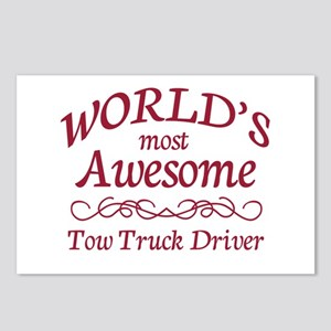 Awesome Tow Truck Driver Postcards (Package of 8)
