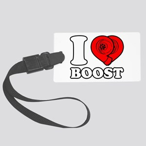 I Heart Boost Large Luggage Tag