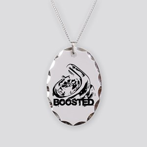 Boosted Necklace Oval Charm