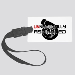 Unnaturally Aspirated Large Luggage Tag