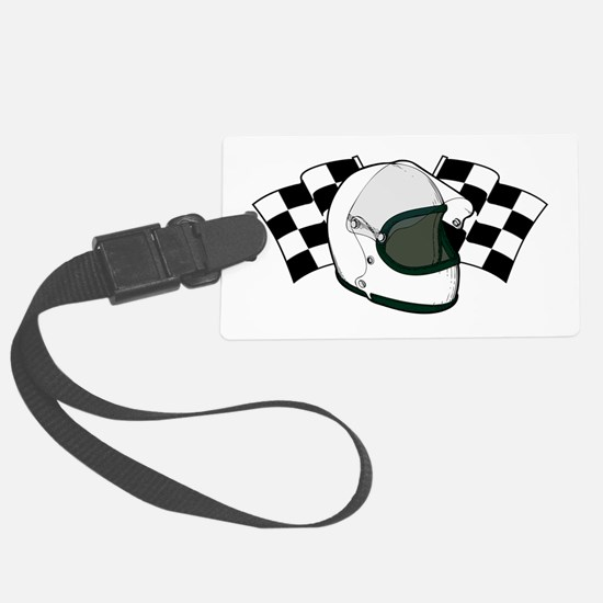 Helmet & Flags Luggage Tag