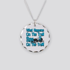 On The Trail Necklace Circle Charm