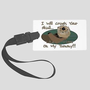 Otter Skull Crush Large Luggage Tag