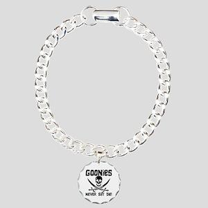 Never Say Die Charm Bracelet, One Charm