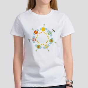 7 Swans A-Swimming T-Shirt
