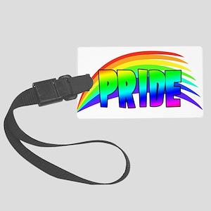 RainbowPrideDesign2 Large Luggage Tag