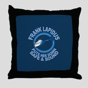 Frank Lapidus Throw Pillow